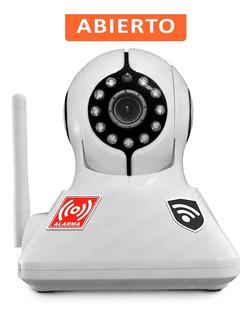 2 En 1 Cámara Ip Y Alarma Hd Wifi P2p Video Vigilancia