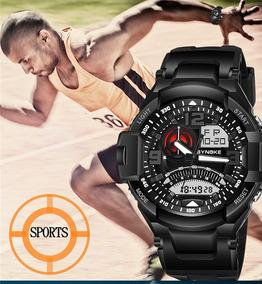 Relógio Masculino Synoke 67876 Anti Shock Importado - Preto