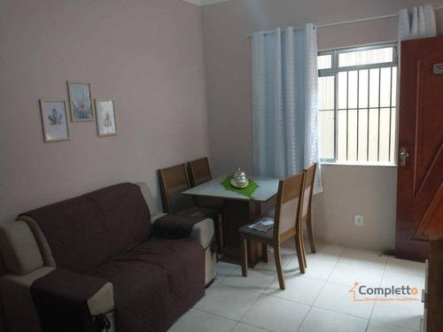 Imagem 1 de 17 de Casa Com 2 Dormitórios À Venda, 57 M² Por R$ 345.000 - Taquara. - Ca0227