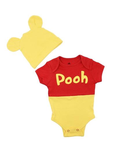 Pañalero Disney Osito Winnie Pooh Disfraz Original 5604