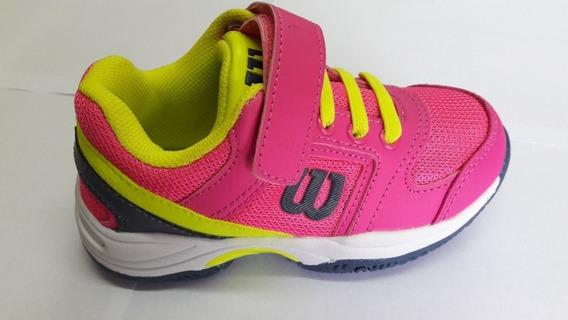 Zapatillas Wilson Set Tennis 2.0 Niñas Envíos A Todo El País