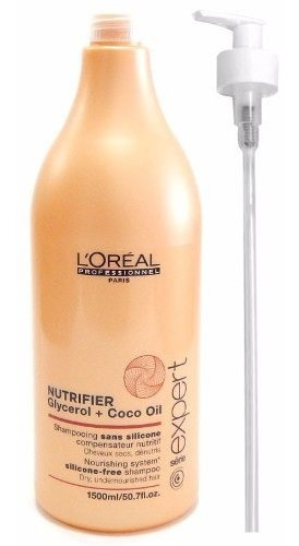 Loreal Profesional Nutrifier Shampoo Nutritivo X 1500 Nuevo!