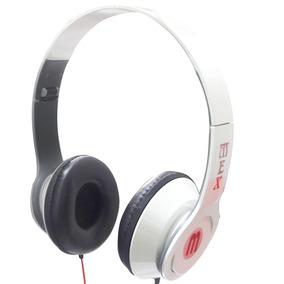 Fone De Ouvido Headset Para Celular Mex Branco Drive 40mm