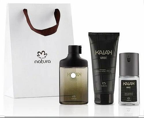Perfume Kaiak Urbe + Splash + Jabón Liq - mL a $79