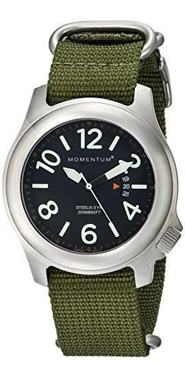 ¿hombres Momentum? S Field Series Reloj De Cuarzo? Steelix |