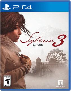 Videojuego Syberia 3 Para Playstation 4