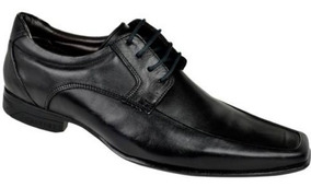 Sapato Social Masculino Calvest + Cinto Calvest C620 - Preto