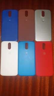 Pacotes De 6 Tampas Traseiras De Motorola G4 & G4 Plus