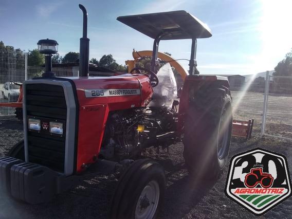 Tractor Agrícola Mf285 De 80hp Sencillo Massey Ferguson