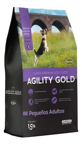Imagen 1 de 1 de Agility Gold Pequeños Adultos 1.5 Kg