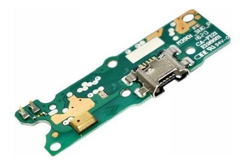 Imagen 1 de 7 de Placa Flex Pin De Carga Compat. C/ Moto E6 Play Cld. Orig.