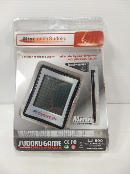 Mini Game Touch Sudoku Retro Video Puzzle Vintage Novo 2°