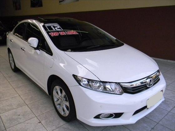 Honda Civic 1.8 2012 Branco