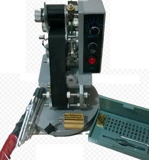 Codificador Fechador Loteador Manual + Cinta Termica De 3cm