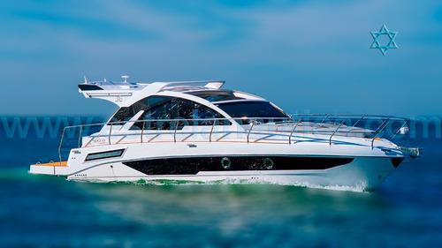 Lancha Sedna 36 Barco Iate N Ferreti Azimut Intermarine