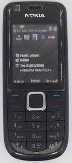 Nokia 3120c Preto Só Tim Original Nacional Semi Novo