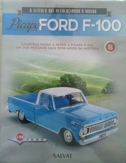 Picape Ford F-100 Edição 6 Editora Salvat