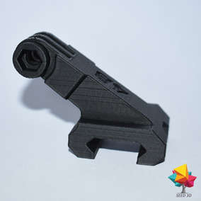 Suporte/ Mount Para Gopro Picatinny 21/20 Mm Airsoft