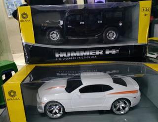 Autos A Escala 1:24 De Plástico