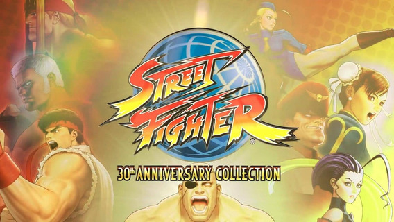 Street Fighter Collection 30 Anos Para Playstation 2
