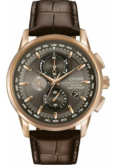 Relógio Citizen At8113-04h Eco-drive . Vidro De Safira 43mm