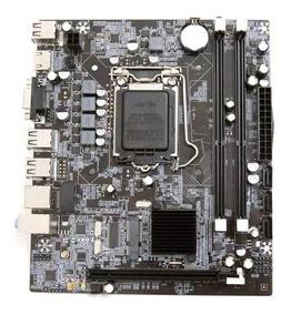 Placa Mãe H55 Socket Lga 1156 Para I3 I5 I7 Intel Ddr3 Hdmi