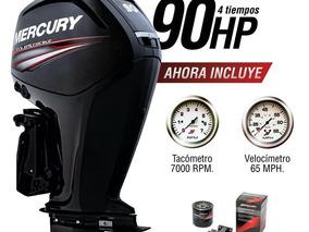 Mercury 90 Hp 4t 0hs. 2018 C/ Instrumentel Permuto