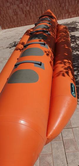 Banana Boat Marca Náutica Para 5 Lugares.