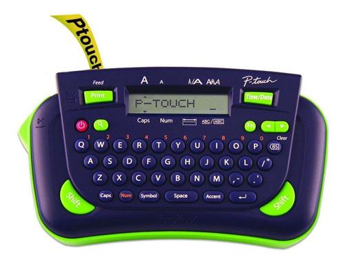 Rotulador Eletrônico Pt80 Brother - Azul E Verde