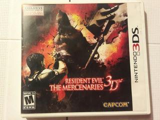 Juego Para 3ds Resident Evil 3d The Mercenaries