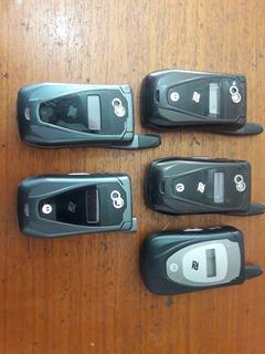 Motorola Nextel No Estado, Sem Teste (lote Com 5 Peças)