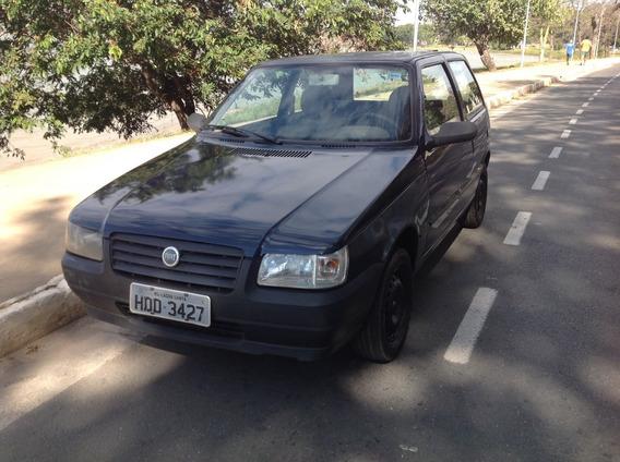 Fiat Uno Mille Fire Flex 2p Azul