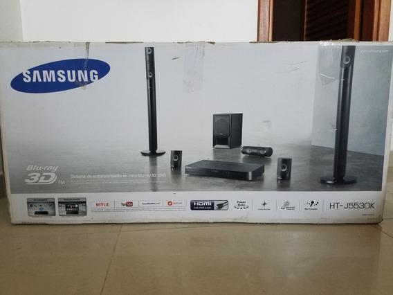 Home Theater Samsung Bluray 3d Ht J5530k, Bluetooth