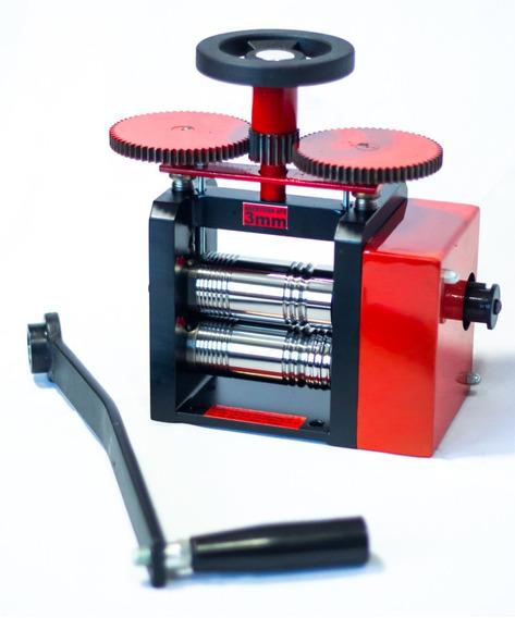 Laminador Manual Ourives C/ Redução. ( Rolo 92mm).