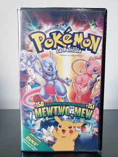 Pokemon Mewtwo Vs Mew Vhs 1998