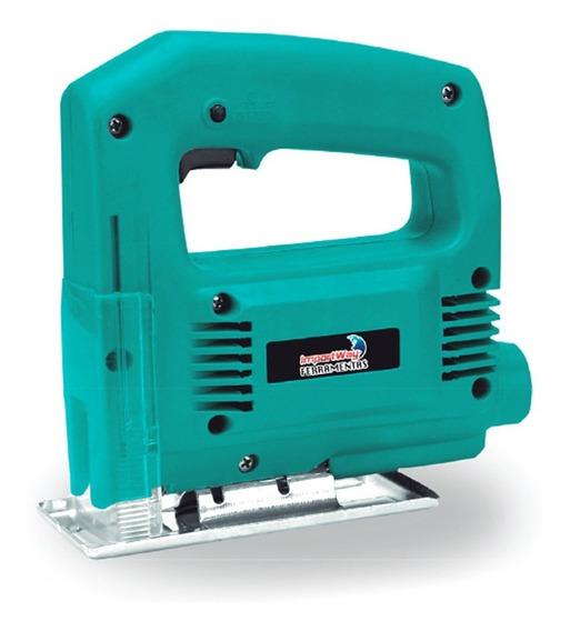 Serra Tico Tico Eletrica 500w 2800 Rpm 110v/220v Lamina Corta Madeira Mdf Metal Aço Aluminio Plastico Acrilico