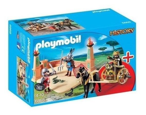 Playmobil Arena Combate Com Gladiadores - 6868