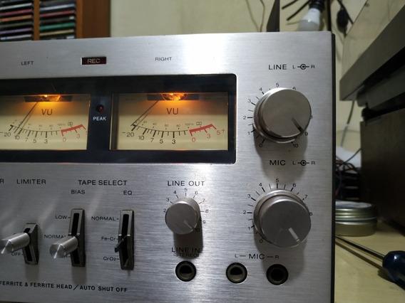 Tape Deck Sony Raro. Tc- 206sd Leia Descrição