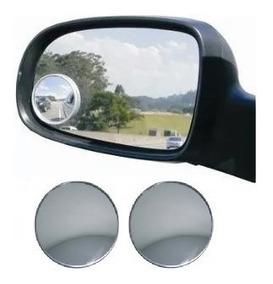 Par Espelho Convexo 2 Pol 50cm Carro Moto
