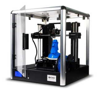 Impresora 3d Kit 1 Extrusor Exo 3dfab10 Lcd Abs Educacion
