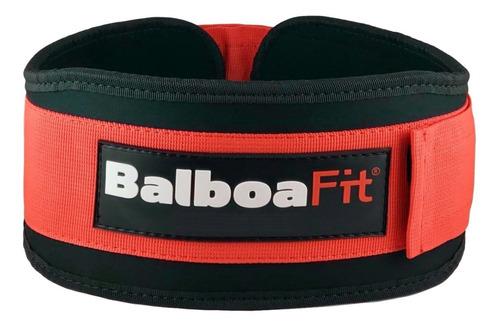 Imagen 1 de 6 de Cinturon Cinto Fuerza Balboafit Gimnasio Gym Pesas Lumbar