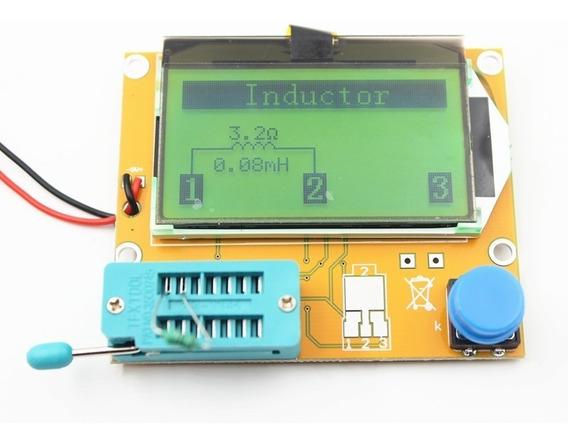 Testador Componentes Transistor Medidor Esr Capacímetro T4