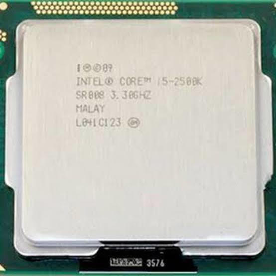 Processador Intel I5 2500k Lga1155