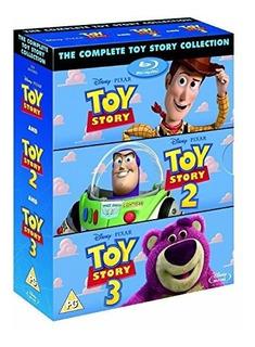 La Coleccion Completa De Toy Story 1 2 3 Bluray Box Set Disn