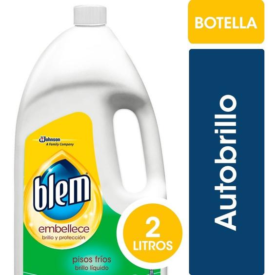Blem Autobrillo Incoloro X2 Litros - 3 Botellas