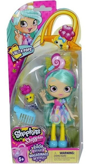 Muñeca Shopkins Shoppies Shop Style Accesorios Int 56932 Edu