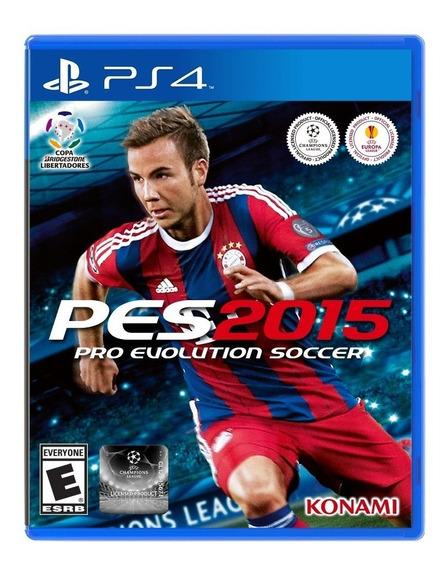 Jogo Pes 2015 Pro Evolution Soccer Para Ps4 Konami