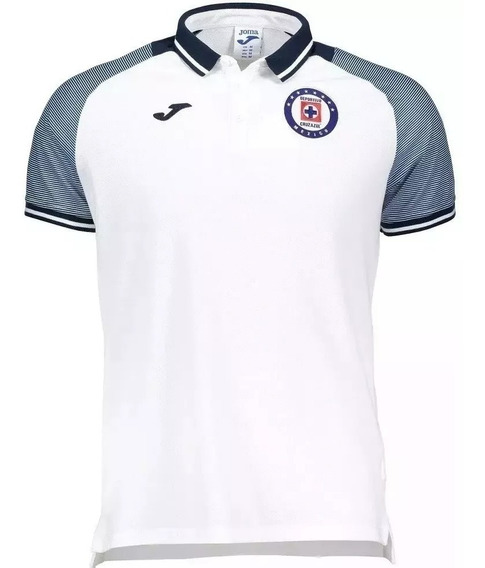 Playera Polo Cruz Azul 2019-2020 Original Blanco