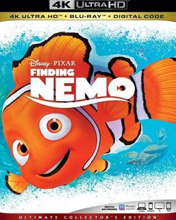 Buscando A Nemo 4k Uhd Slipcover Sellada
