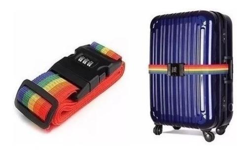 Fita Cinta Para Mala De Viagem Com Código De Segurança.